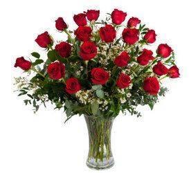 24 Roses Floral Arrangement