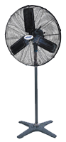 "Windy 25"" High Velocity Industrial Oscillating Pedestal Fan"
