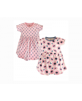2 Pack Baby Dress (Touched by Nature) M