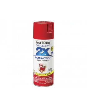 2X Ultra Cover Gloss Spray Paint 12 oz. Apple Red (3 Pack)