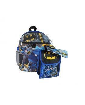 "Batman 5pc 16"" Backpack"