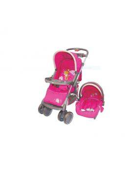 Small Creations Stroller - Travel System (Pink)
