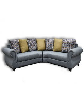 The Venice 1 Piece L Shaped 4 Seater Sofa