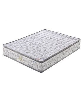Imperial King Mattress Dual Pillow Top Pocket Spring with Side Padded Rome