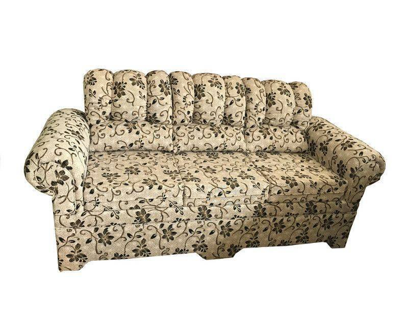 3 seater printed sofa