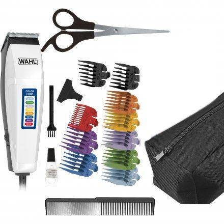 Wahl 17 Piece Color Code Hair Cutting Kit 39113