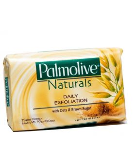 Palmolive Naturals Daily Soap Exfoliation with Oat & Brown Sugar 100g 12 Pack