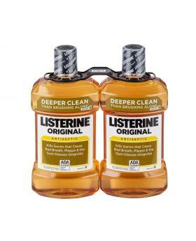 Listerine Original Antiseptic Mouthwash 1.5L x 2 Count
