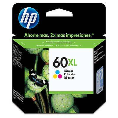 HPc CC644WL #60XL Tri-color Ink  440 pages