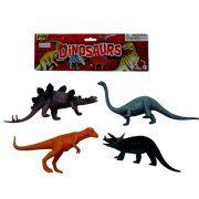 Dinosaur Play Set, 4 Pack