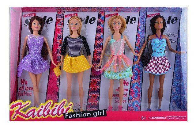 4 Piece Kaibibi Fashion Girl Set