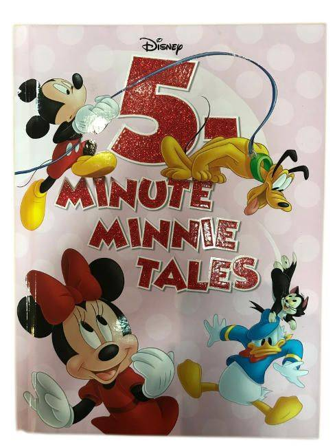 Disney 5-Minute Minnie Tales For Ages 3 And Up