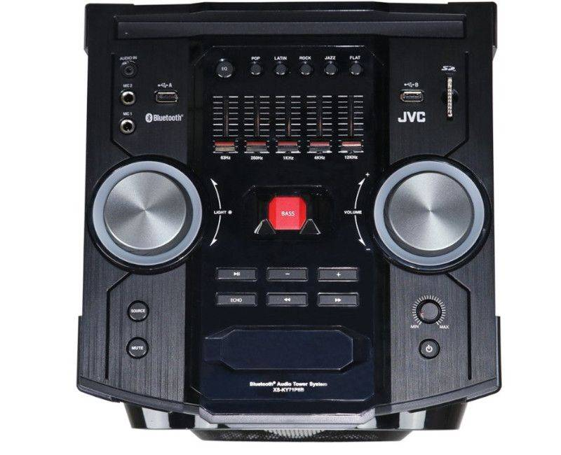JVC TOWER PARTY SET -- 4840 WATTS -- PARTY VIBES