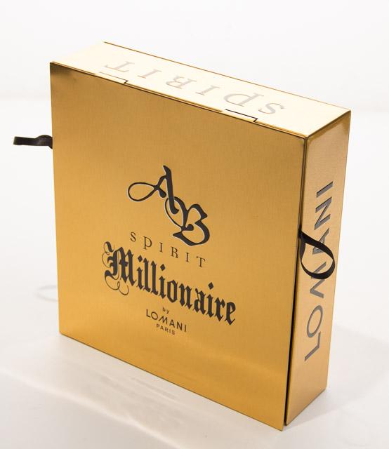 Ab Spirit Millionaire By Lomani Perfume Set