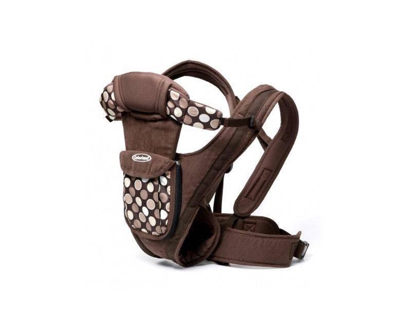 Colorland Adjustable Baby Body Carrier (Brown)