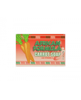 African Formula Carrot Soap With Vitamin A (3.0oz)