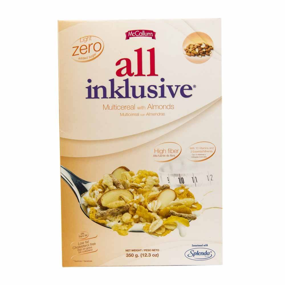 McCallum's All Inklusive Cereal with Almonds 1kg