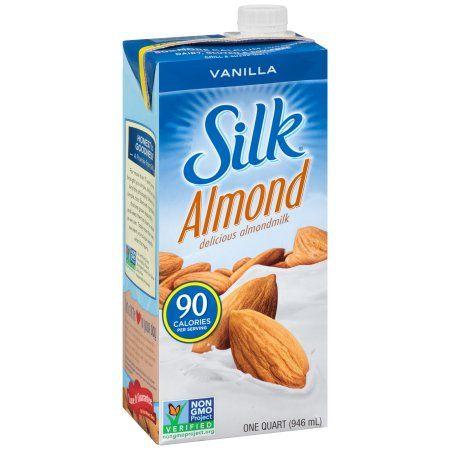 Silk Vanilla Soymilk 12x1 Quart