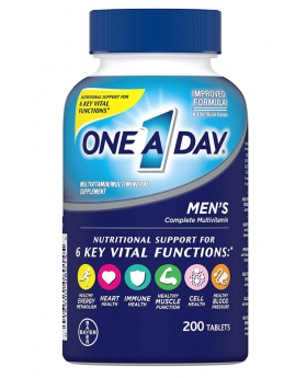 One A Day Men's Multivitamin, Supplement with Multivitamins and more - 200 Pills