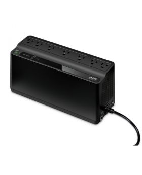 APC Back-UPS BE600M1, 600VA, 120V, with USB charging port
