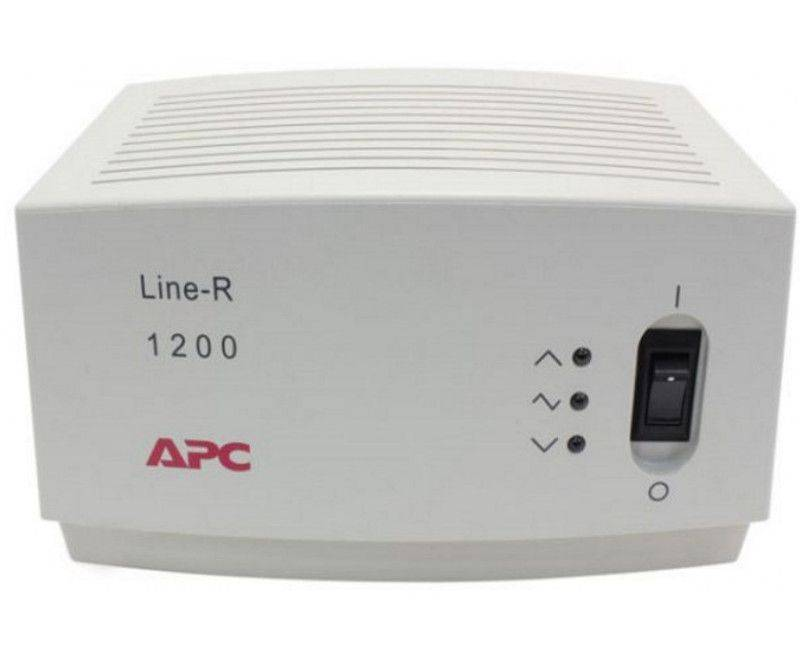 APC Line-R 1200VA - Automatic Voltage Regulator - AC 120 V
