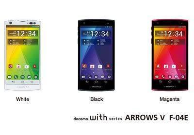 Arrows V F-04E Unlocked Cellphone 64GB ROM 2GB RAM