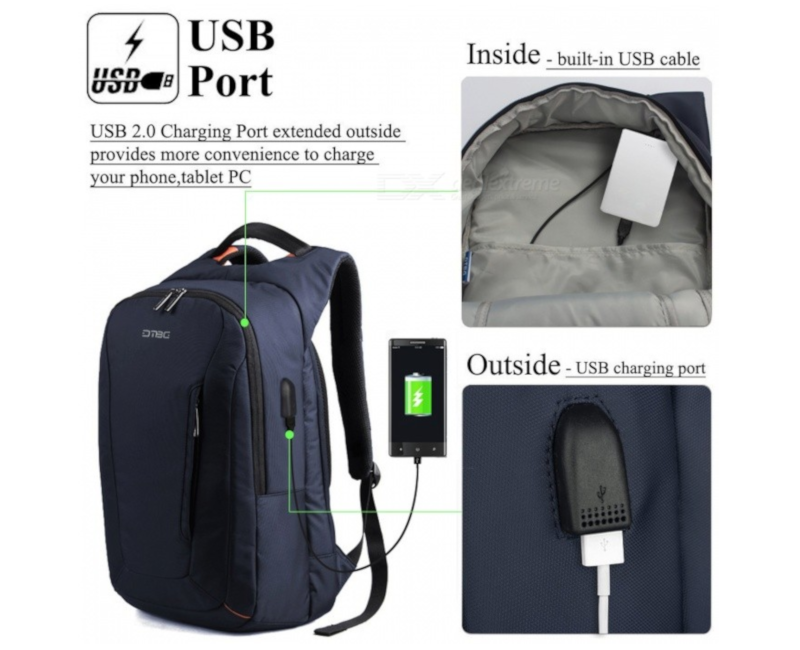 Bag-pack Charger USB