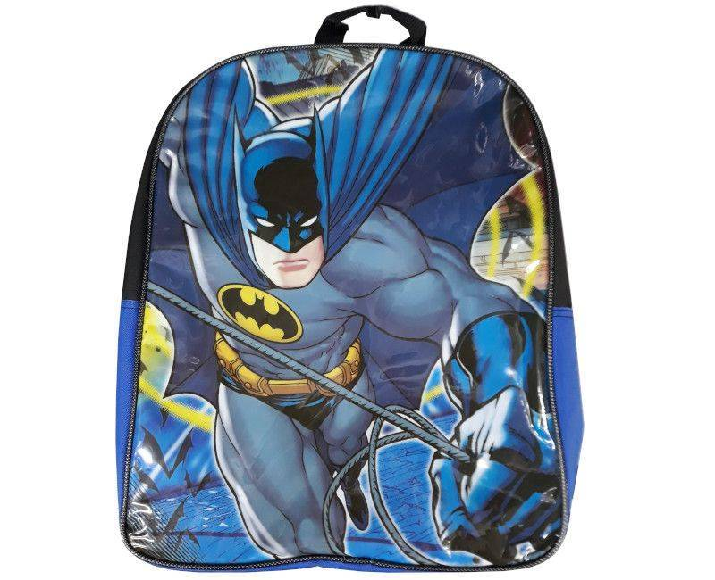 Batman Black & Blue Vinyl School Bag