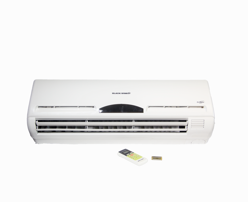 Front-view-of-Black-Star-24000-BTU-Inverter-AC