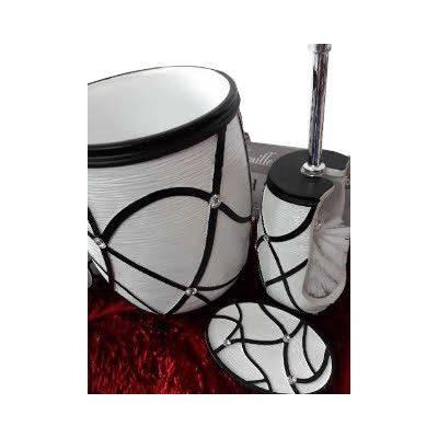 Black & White Bathroom Set