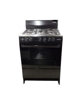 Blackpoint 5 Burner Gas Stove in Black