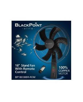 "Blackpoint Elite 18"" Digital Standing Fan with Remote"