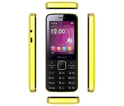 Blu Janet Phone (Yellow)