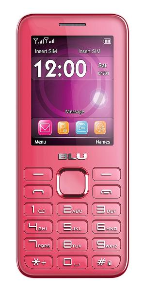 Blu Diva II Pink Cellphone (Pink)