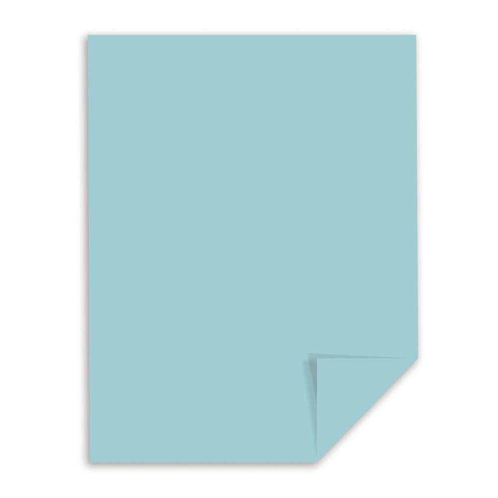 Blue Bristol Paper