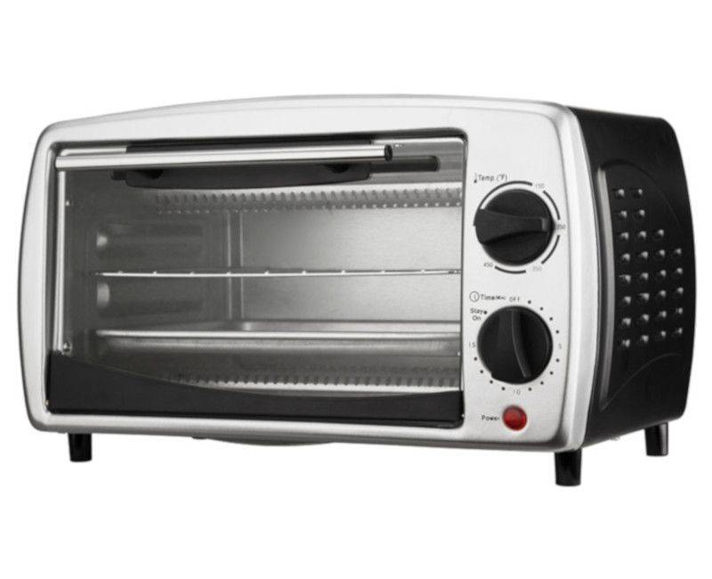 Brentwood Black Stainless Steel Toaster Oven