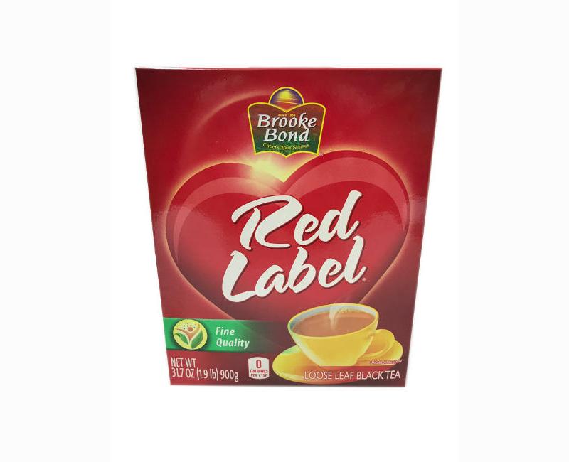 Brooke Bond Red Label Fine Quality Loose Leaf Black Tea 900g