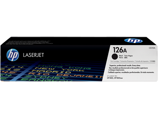 HP Toner Black CE310A for CP1025