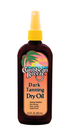 Caribbean Breeze Dark Tanning Dry Oil