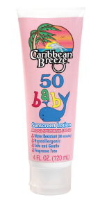 Caribbean Breeze SPF 50 Baby Sunscreen Lotion