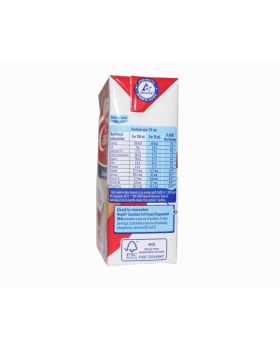 CARNATION Full Cream Evaporated Milk 250ml Carton Side View