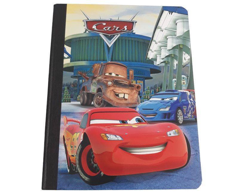 Cars 5 Pack Hardcover Notebooks- Single
