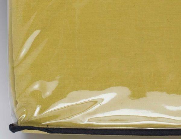 Casserina Home 300 Count Queen 4-Piece Bedsheet Set-Neon Yellow