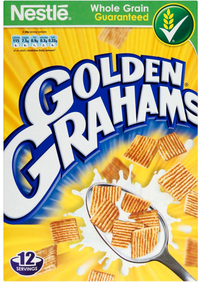 Nestle Golden Grahams  Cereal 340G