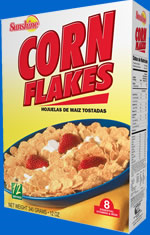 Sunshine Cornflakes Cereal 340 Grams