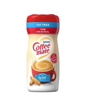 COFFEE MATE Original Fat Free Powder Creamer 453.5g Bottle