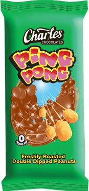 Charles Chocolate Ping Pong 100gm