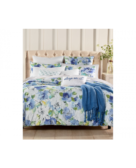 Charter Club 3-Piece KING Comforter Set Damask Designs Sketch Floral B99166