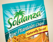 Holiday Soldanza Ripe Plantain Chips 50 Grams