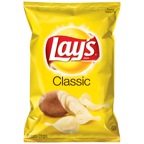 Lays Regular Potato Chips 6.5 Ounces